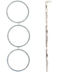 Nickho Rey - Parker Blue Topaz Earrings - Lyst