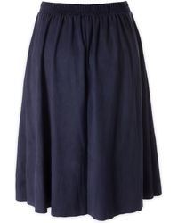 Intimissimi - Suede-effect Skirt - Lyst