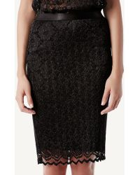 Intimissimi - Skirt In Pleated Lace - Lyst