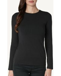 Intimissimi - Long-sleeve Round-neck Modal-cashmere Top - Lyst