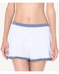 Intimissimi - Rodeo Lace Supima Cotton Shorts - Lyst