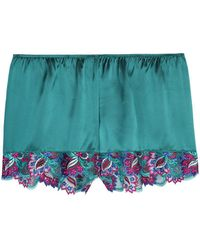 Intimissimi - Colorful Dream Silk-satin Shorts - Lyst