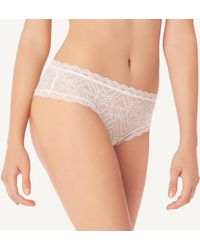 5d6f500ab4c Lyst - Chantelle Opera Lace Bustier-style Camisole in White