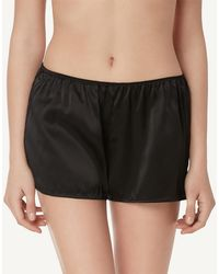 Intimissimi - Smooth Silk-satin Shorts - Lyst