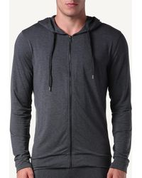 Intimissimi - Silk And Modal Zip Hoodie - Lyst