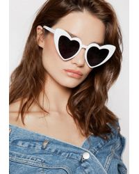 Ivyrevel - Heartbreaker Sunglasses White - Lyst