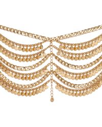 Ivyrevel | Rattle Ankle Chain Gold | Lyst