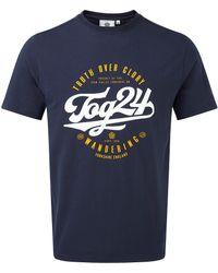 Tog 24 - Tog24 Kelton Graphic T Script - Lyst
