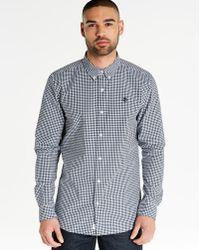 Timberland - Poplin Gingham Shirt - Lyst