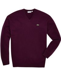 Lacoste - Mighty V Neck Jumper - Lyst