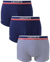 Lacoste - Pack Of 3 Hipsters - Lyst