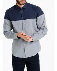 Jacamo - Colour Block L/s Shirt - Lyst