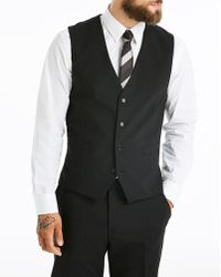 Skopes - Black Stripe Darwin Suit Wcoat R - Lyst