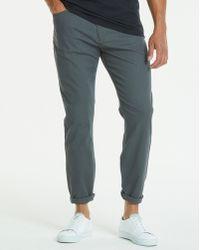 Jacamo - Slim Gaberdine Charcoal Jeans 31 In - Lyst