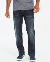 Lambretta - Recharge Dark Wash Jeans 29in - Lyst