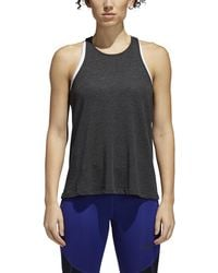 4892091830be8 adidas - Performance Open Back Tank - Lyst