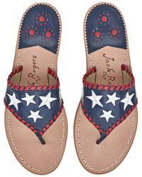 Jack Rogers - Exclusive Star Spangled Sandal - Lyst