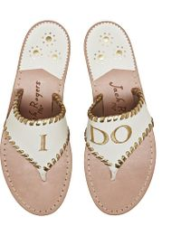 Jack Rogers - Exclusive I Do Sandal - Lyst