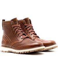 Timberland - Britton Hill Wingtip Boot - Lyst