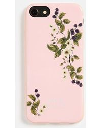 Jack Wills - Brampton Navy Floral Iphone Case 6/6s/7/8 - Lyst
