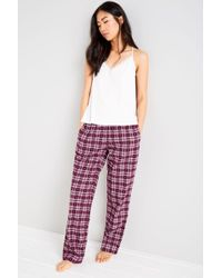 Jack Wills - Cassie Checked Lounge Pants - Lyst