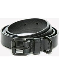 Jack Wills - Huntlywood Skinny Leather Belt - Lyst