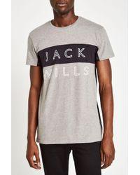 Jack Wills - Bramshill Colourblock T-shirt - Lyst