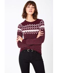 Jack Wills - Hollowell Fairisle Jumper - Lyst