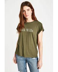Jack Wills - Forstal Boyfriend T-shirt - Lyst