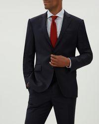 Jaeger - Regular Flannel Suit Jacket - Lyst