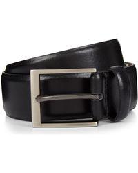 Jaeger - Formal High Shine Leather Belt - Lyst