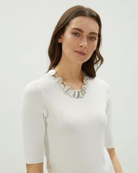 Jaeger - Ring & Disc Short Necklace - Lyst