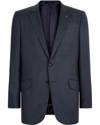 Jaeger | Wool Birdseye Classic Jacket | Lyst