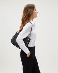 Jaeger - Eva Stud Shoulder Bag - Lyst