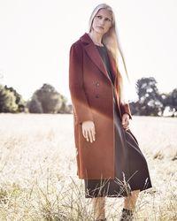 Jaeger - Alpaca Wool Coat - Lyst