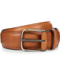 Jaeger - Casual Tan Pebble Dash Leather Belt - Lyst