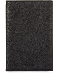 Jaeger Leather Passport Holder - Black