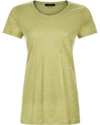 Jaeger - Cotton Jersey Side Split Tunic - Lyst