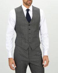 Jaeger - Slim Textured Suit Waistcoat - Lyst