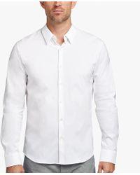James Perse - Matte Stretch Poplin Dress Shirt - Lyst