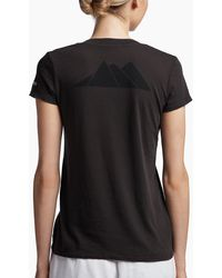 James Perse - Aspen Mountains Graphic V-neck - Lyst