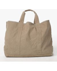 James Perse Large Canvas Tote - Natural