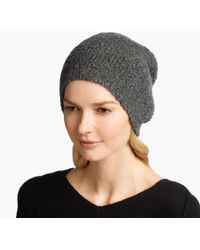 James Perse - Cashmere Fluffy Hat - Lyst