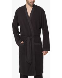 James Perse - Sueded Jersey Robe - Lyst
