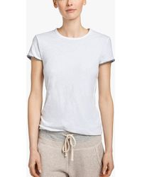 James Perse - Double Layer Vintage Tee - Lyst
