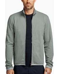 James Perse - Y/osemite Cotton Terry Jacket - Lyst