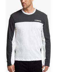 James Perse - Fresca Jersey Motocross T-shirt - Lyst