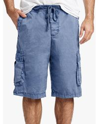 James Perse - Stretch Poplin Cargo Short - Lyst