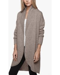 James Perse - Cashmere Shawl Collar Coat - Lyst