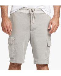 James Perse - Cotton Jersey Cargo Short - Lyst